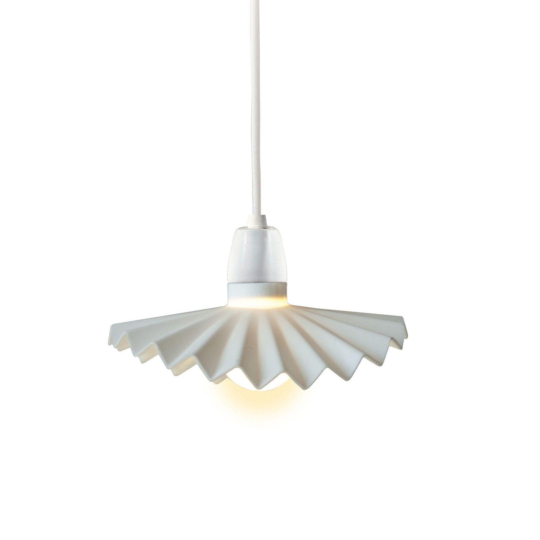 Lampenschirm Cappello | Weiß