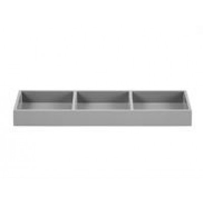 Lacquer Tray 3-Rooms | Grey