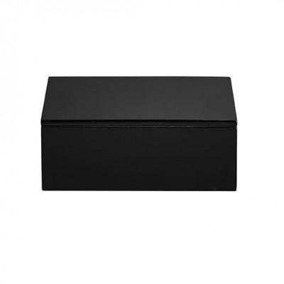 Lacquer Box Low | Black