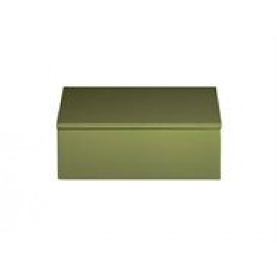 Lacquer Box | Moss Green