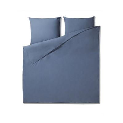 Bettbezug 220 x 240 cm + Kissenbezug   Indigo