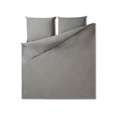 Bettbezug 220 x 240 cm + Kissenbezug   Granit
