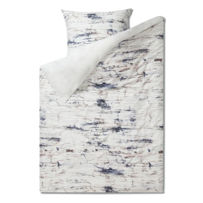 Bettbezug 135 x 200 cm + Kissenbezug   Marmor