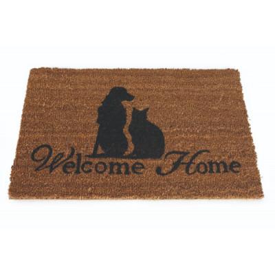 Fußmatte Willkommen zu Hause