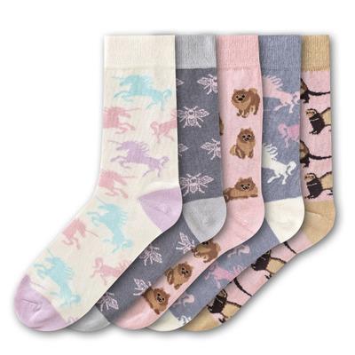 5er Set Damen Socken | 36-40