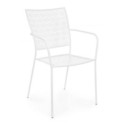 Outdoor-Stuhl Jodie   Weiß