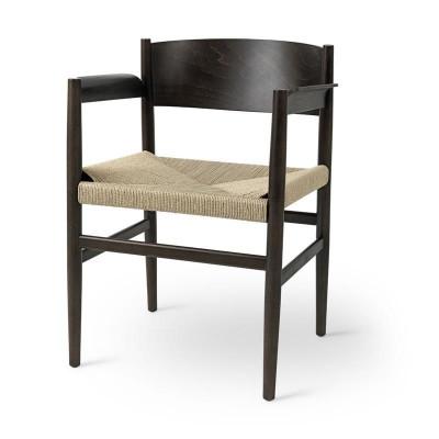 Stuhl Nestor | Sirka Graubuche & Papierkordel