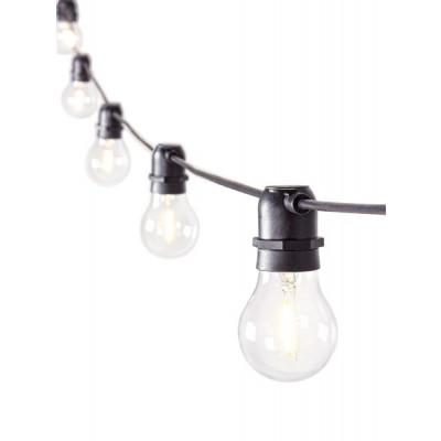 String Light Chain 10 Led Bulbs | Ø 6 cm