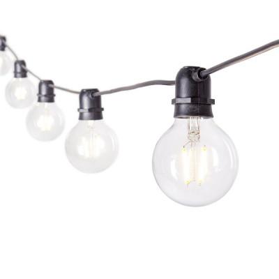 String-Lichterkette 10 Led-Birnen | Ø 8 cm