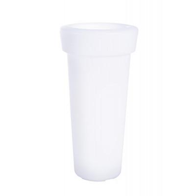Outdoor-Vase mit Led-Lampe H 95 cm