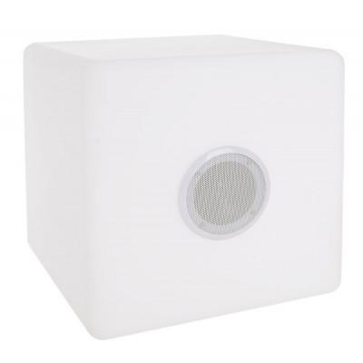 Outdoor-Würfellampe mit Lautsprecher | 40 x 40 cm