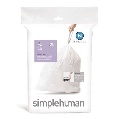 Abfallbeutel Code N   45-50 L   20 Stück