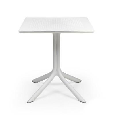 Tisch Clip 70 x 70 | Weiß