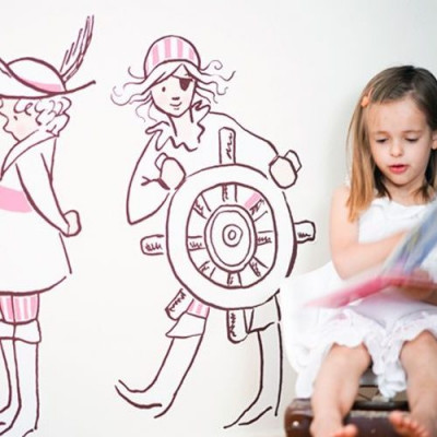 Sarah-Jane-Mädchen-Piraten