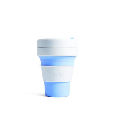 Faltbarer Becher Pocket | 355 ml Himmelblau