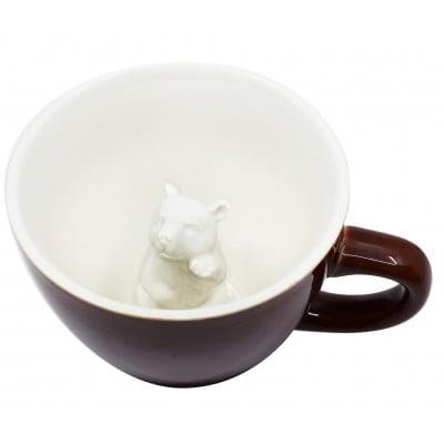 Tasse Creature Cups Erde Bär | Braun
