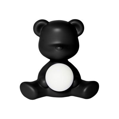 LED Lamp Teddy Girl | Schwarz