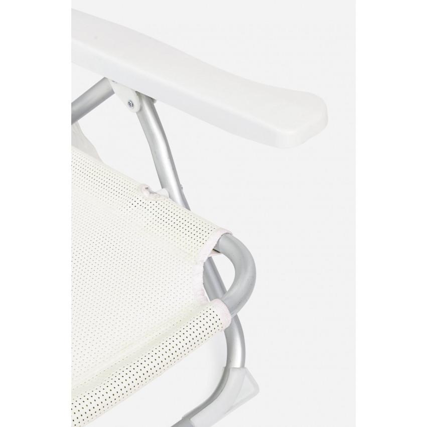 Outdoor Deckchair Cross Siesta | White