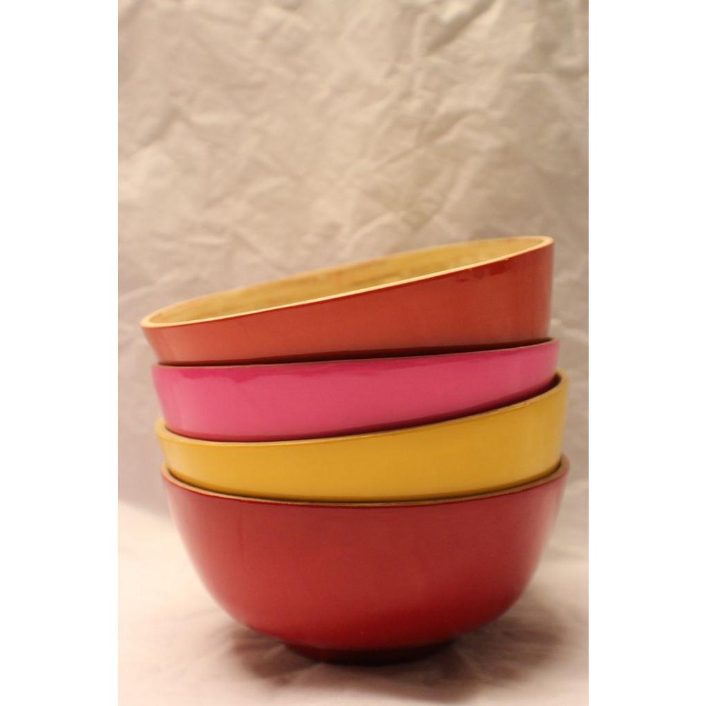 Bamboo Gunilla Bowl Yellow