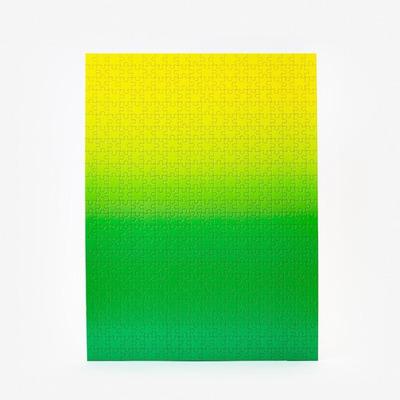 Puzzle Gradient 500 Teile | Grün & Gelb