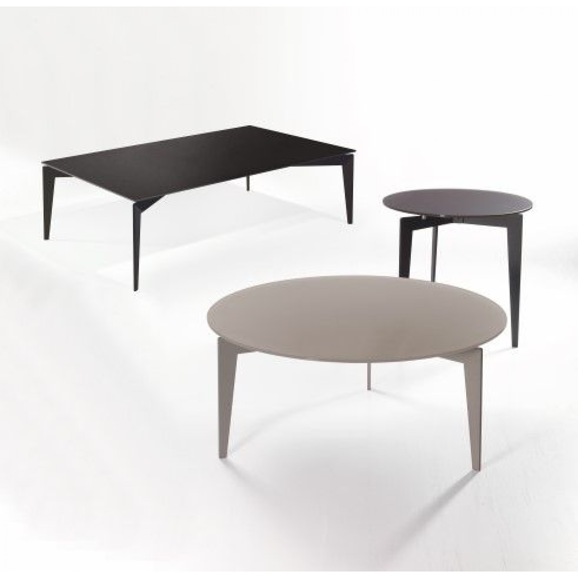 Nordic Coffee Table | Sandblasted Ardesia & Walnut