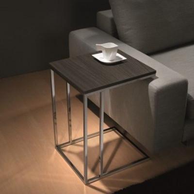 Lamina Side Table | Ardesia Walnut