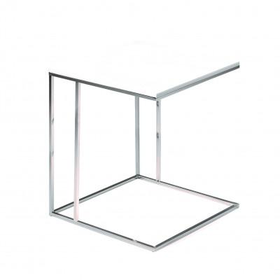 Lamina Side Table | Matrix White