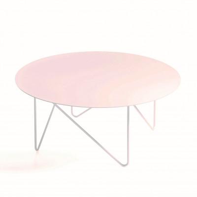 Shape Side Table | Sandblasted White