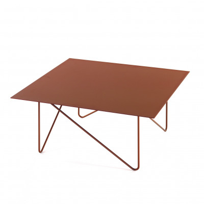 Shape Side Table | Sandblasted Copper