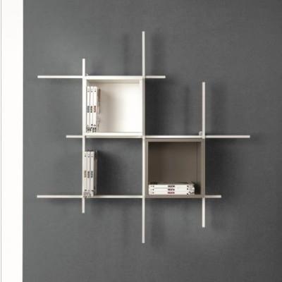 Libra Bookcase COMP31 | Sandblasted White