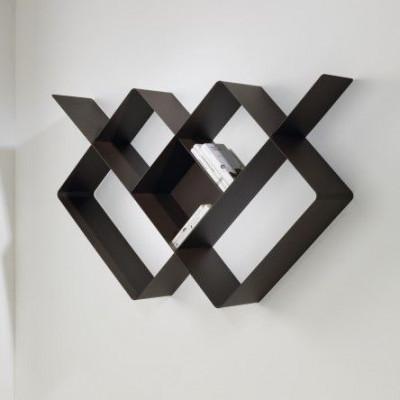 Mondrian Bookcase | Sandblasted Chocolate (22) & Sandblasted Chocolate (25)