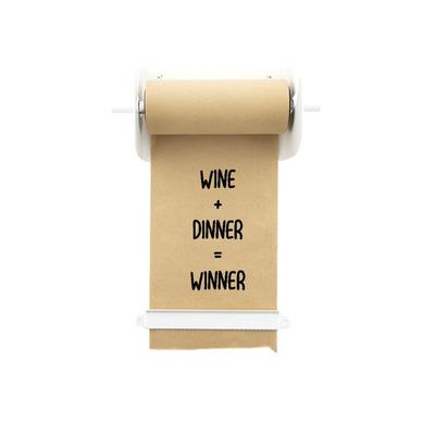 Kraft Paper Roller | White - M