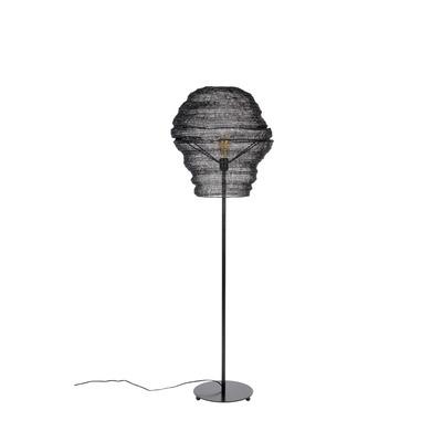 Stehlampe Lena   Schwarz