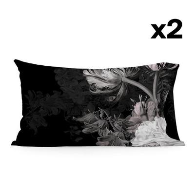 Kissenbezug 50 x 75 | Onyx | 2er-Set