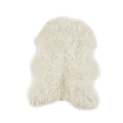 Schafsfell Isländisch Weiß