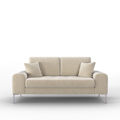 2-Sitzer Sofa Rime | Weiß