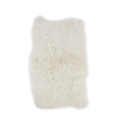 Set of 4 Sheepskins Icelandic White | Long Hair
