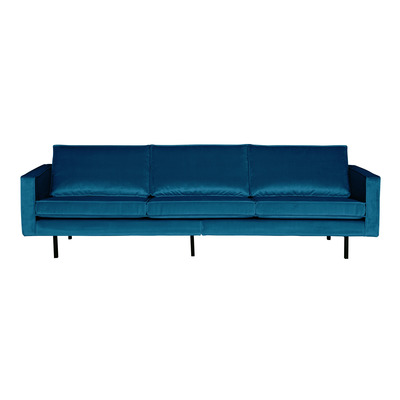 3 Seater Sofa Rodeo Velvet | Blue