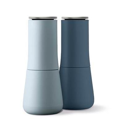 2er-Set Milltops Pfeffer und Salz Edition Sky   Blau
