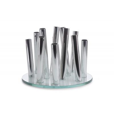 Vase Bouquet   Silber
