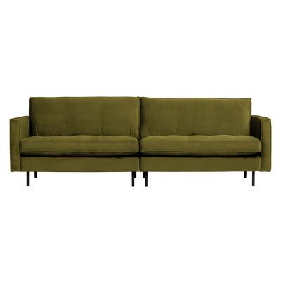 3 Seater Sofa Rodeo Classic Velvet | Olive Green