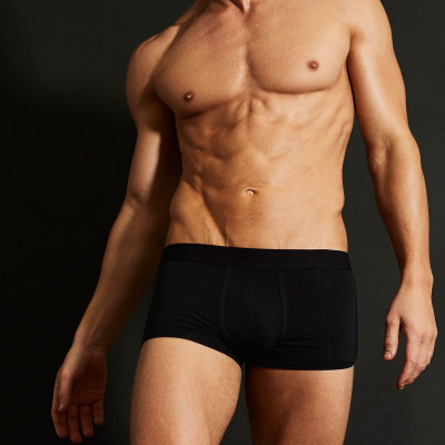 3 Pack Boxers   All Black