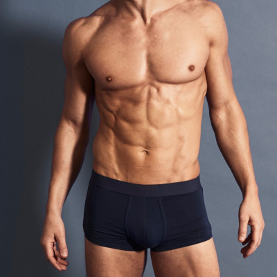 3 Pack Boxers   Navy Blue