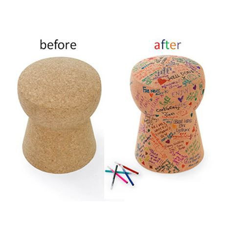 Side Table Giant Champagne Cork Unprinted DIY Edition