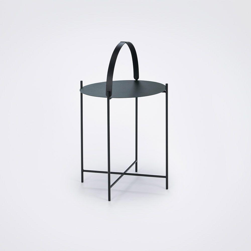 Tisch Edge | Grün-Ø 46 cm