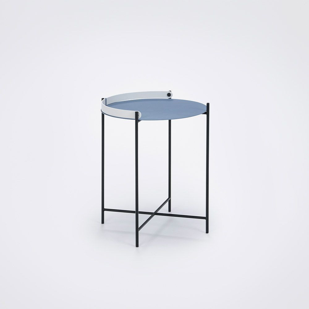 Tisch Edge   Blau