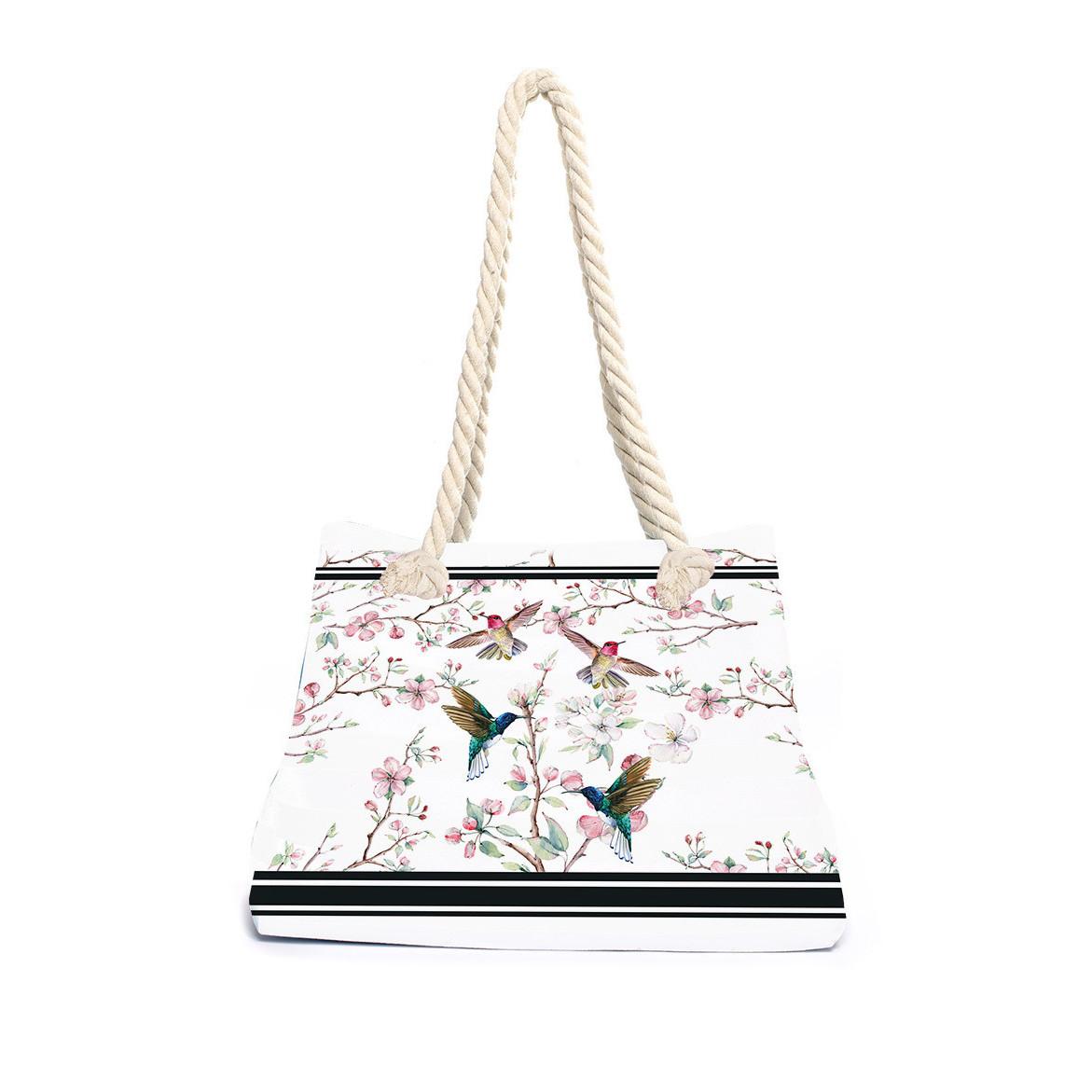 Strandtasche Apfelblüte