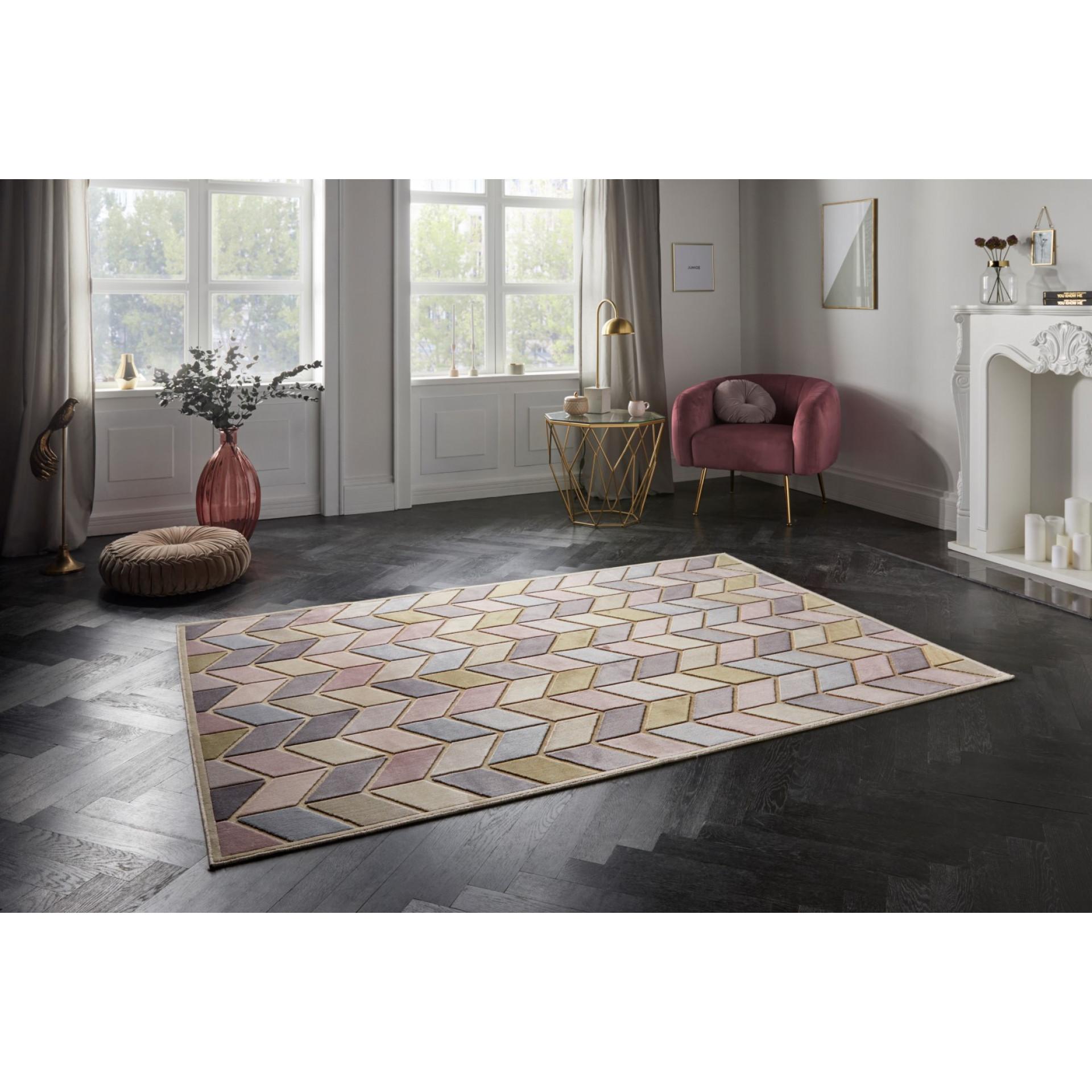 Teppich Loire   Pastel Multi