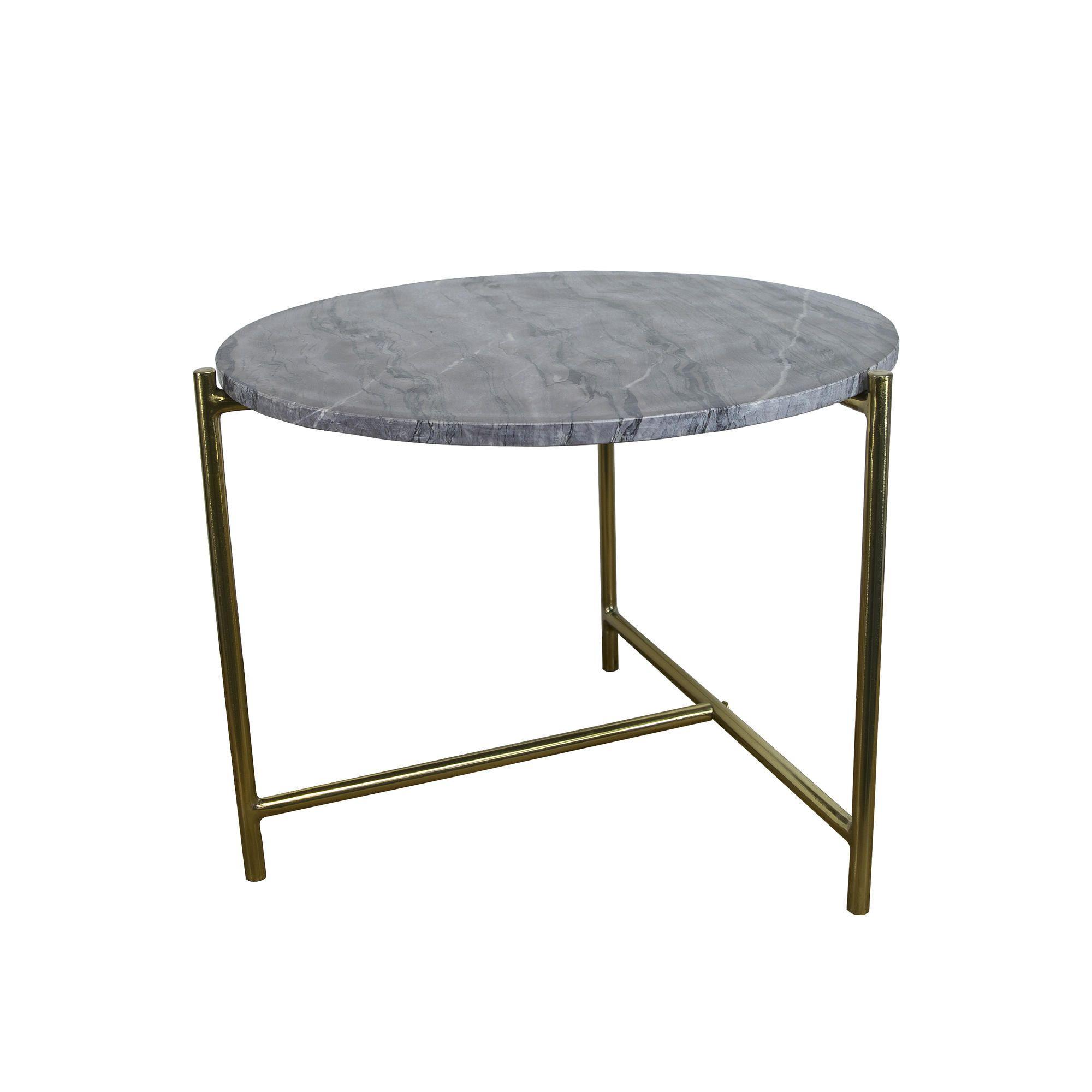 Marble Side Table | Purple