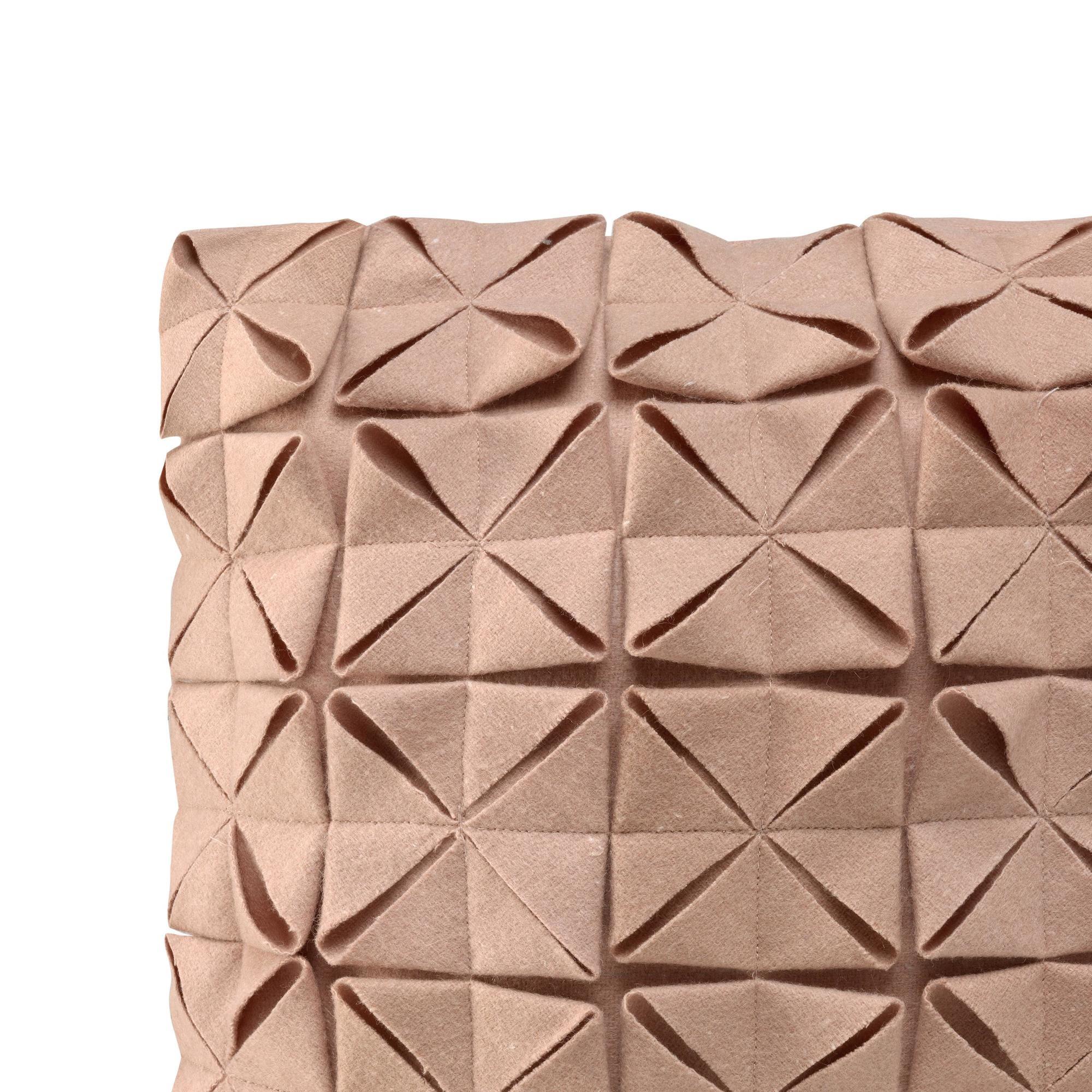 Cushion Cover 50 x 50 cm Geo Felt | Pale Rose